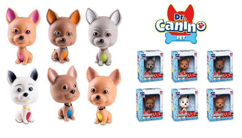 Cachorro Em Vinil - 12cm - Doutor Dr. Canino Pet - Roma