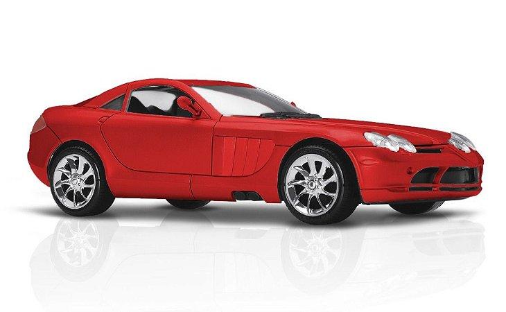 Carrinho Mercedes V10 V-10 - 25,5cm - Roma Brinquedos