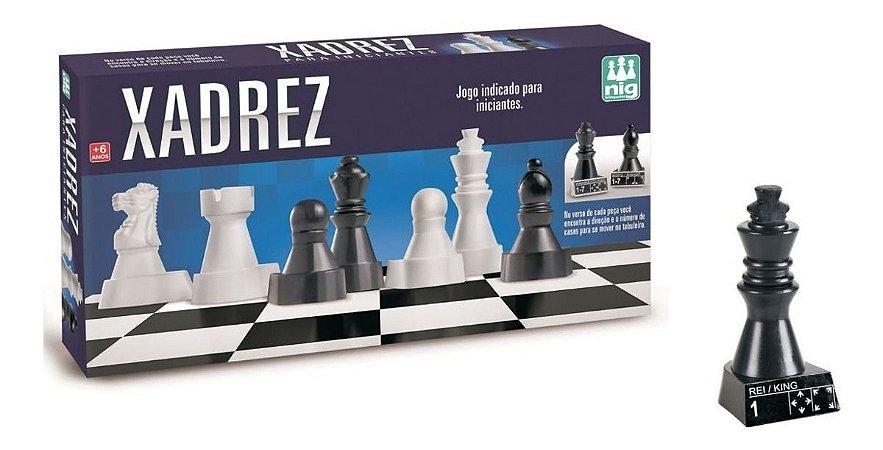 Jogo De Xadrez - Ideal P/ Iniciantes - Nig