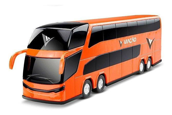 Ônibus C/ 2 Andares - 30 Cm - Roma Petroleum - 1/43 - Roma
