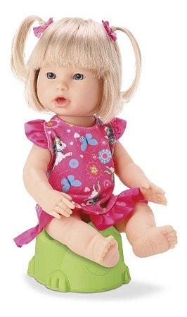 Boneca Diver Dolls - Bebê Peniquinho - Faz Xixi - Divertoys