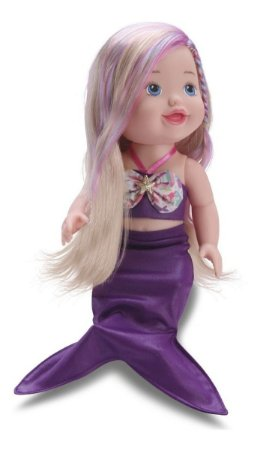 Boneca My Little Alive Collection Sereia C/ 30cm - Divertoys