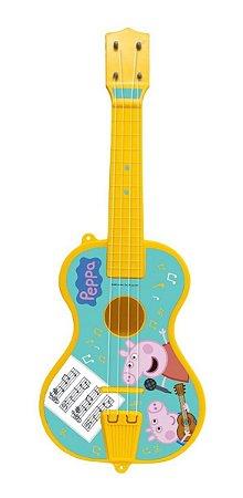 Violão Violãozinho Infantil Peppa Pig - C/ 52cm- Elka