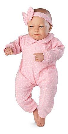 Boneca Bebê Real Expressões- Quero Carinho C/ Certidão- Roma
