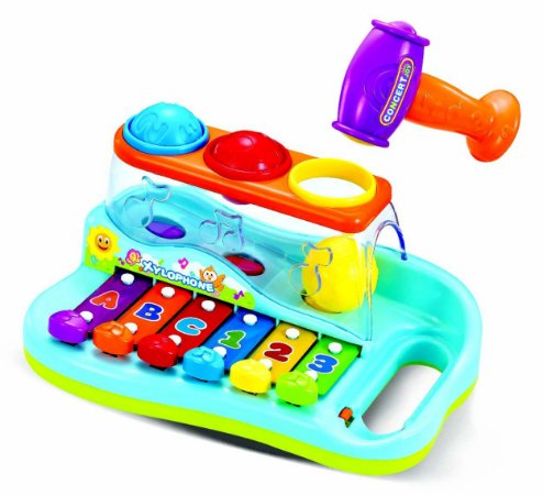 Xilofone Infantil Baby Atividades Musicais P/ Bebês - Zoop