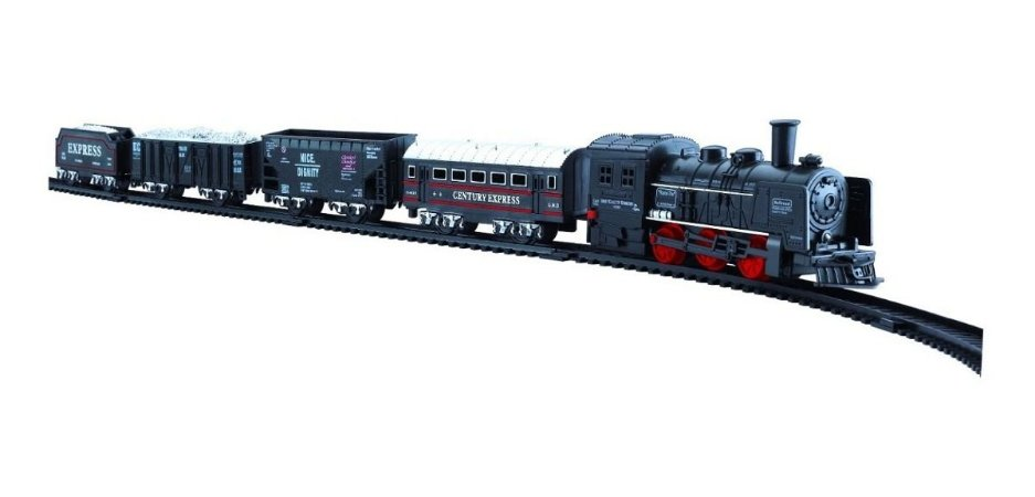 Trem Trenzinho Real Train Ferrorama - 19 Peças - Zoop Toys