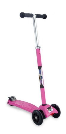Patinete Scooter Rosa - Regulável - Suporta 80kg - Zoop Toys