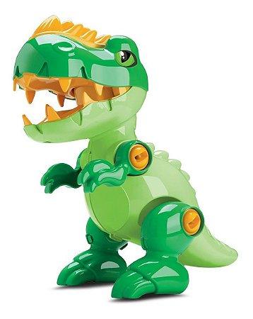 Dinossauro Toy Rex - Monta E Desmosta - C/ Som - Samba Toys