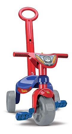 Velotrol Triciclo Tchuco Heróis Super Teia Aranha - Samba