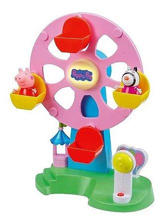 Roda Gigante Peppa Pig C/ Som E Luz + 2 Personagens - Dtc