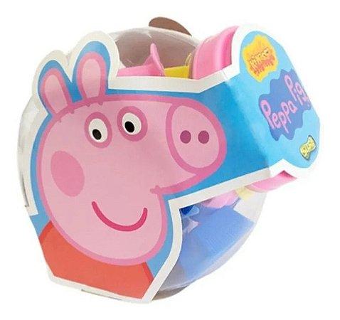 Massa De Modelar Ki-massa Peppa Pig Festa Do Cupcake  Sunny