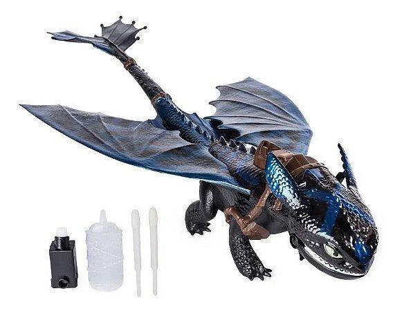Como Treinar Seu Dragão Banguela 56cm C/ Acessórios - Sunny