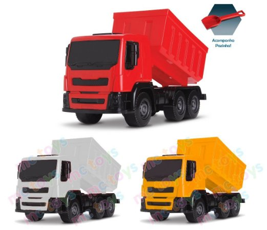 Caminhão Brutale Caçamba Basculante - Roma Brinquedos