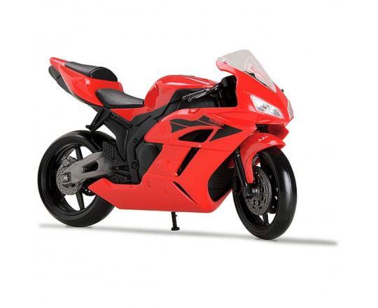 Moto Racing Motorcycle 22cm Pneus Borracha - Roma Brinquedos