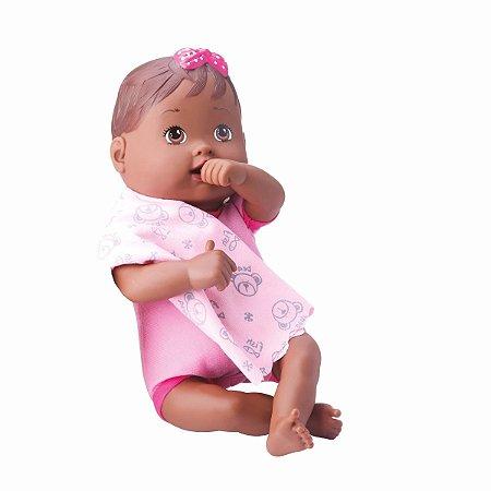 Boneca Nenenzinha Negra Atóxica Ideal Para Bebês - Divertoys