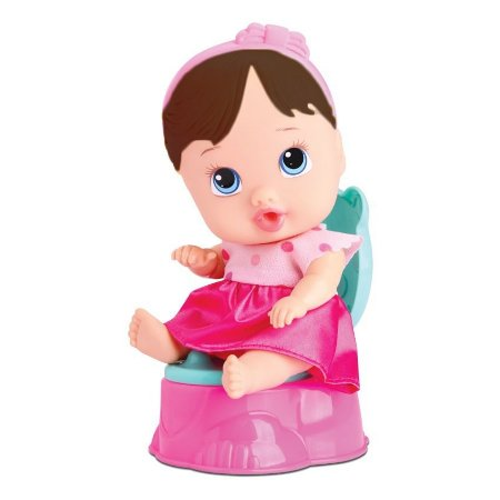 Boneca Bebê Baby Little Dolls Alive Faz Xixi - Divertoys
