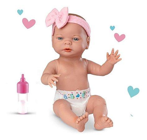 Boneca Roma Babies Primeira Mamadeira C/ Acessórios - Roma