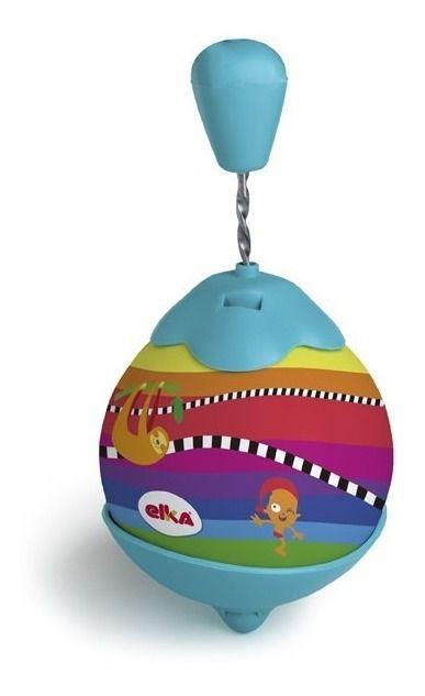 Roda Pião Gigante - Brinquedo Infantil - C/ 25cm - Elka