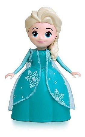 Boneca Elsa - Frozen 2 - 24cm E Fala 8 Frases - Elka