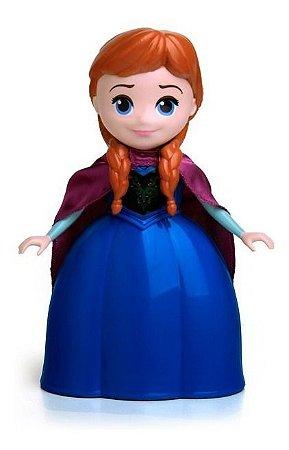 Boneca Anna - Frozen 2 - 24cm E Fala 8 Frases - Elka