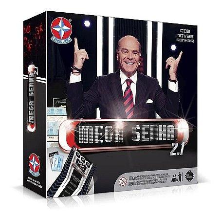 Jogo Mega Senha 2.1 - Tabuleiro - Original - Estrela