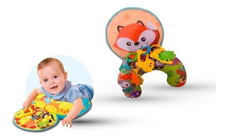 Almofadinha Conforto P/ Bebês C/ Acessórios - Zoop Toys