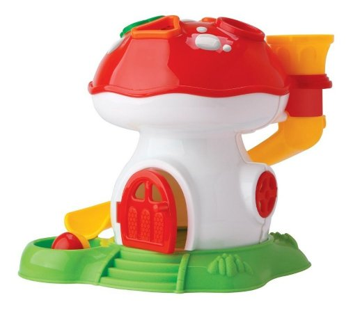 Tchuco Baby Cogumelo Didático - P/ Bebês - Samba Toys