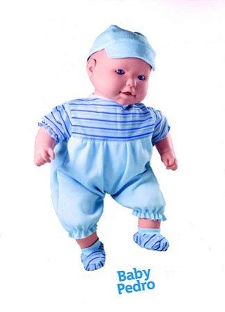 Boneco Cheirinho De Neném - Baby Pedro C/ Sons de Bebê - Milk