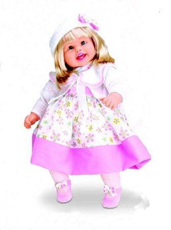 Boneca Rose Ring - Canta 3 Cantigas De Roda- Milk Brinquedos