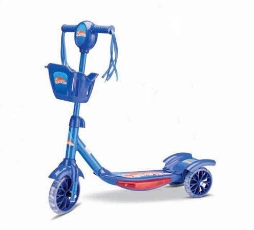 Patinete Super Hero - Regulável - Suporta 35kg - Samba Toys