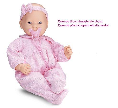 Boneca Baby By Roma - Chora e Ri - Roma Brinquedos