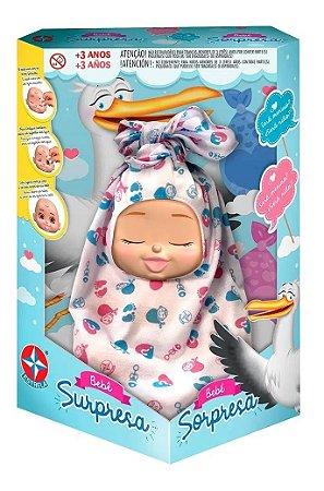 Bebê Surpresa C/ Acessórios - Original - Estrela