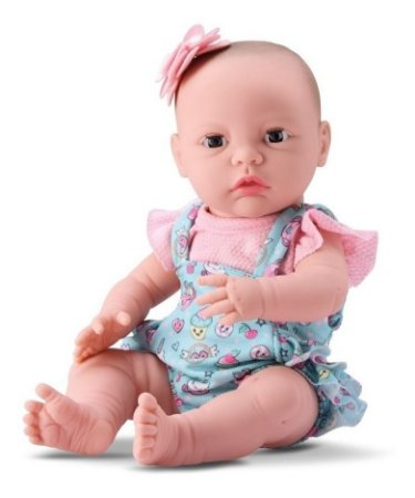 Boneca Primeiros Cuidados - New Born C/ 36cm - Divertoys