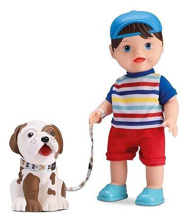 Boneca My Little My Pet Boy- Come E Faz Caquinha- Divertoys