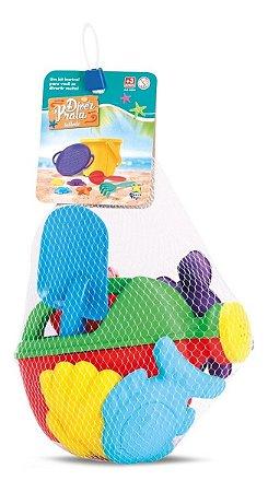 Regador Infantil Diver Praia + Acessórios - Divertoys