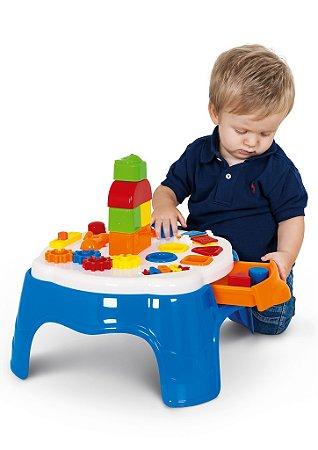 Mesa de Atividades Play Time - Azul - Cotiplás