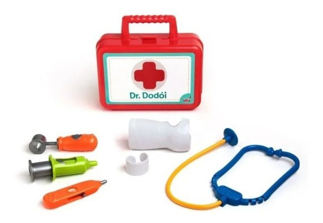 Maleta Educativa Doutor (a) Dodói - C/ Acessórios - Elka