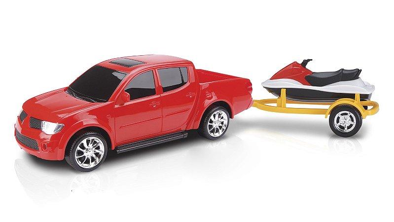 Carrinho Infantil Pick-up Rx Sport + Jet Ski - Roma