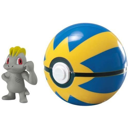 Pokémon - Clip Carry - Machop + Pokebola Quick Ball - Sunny