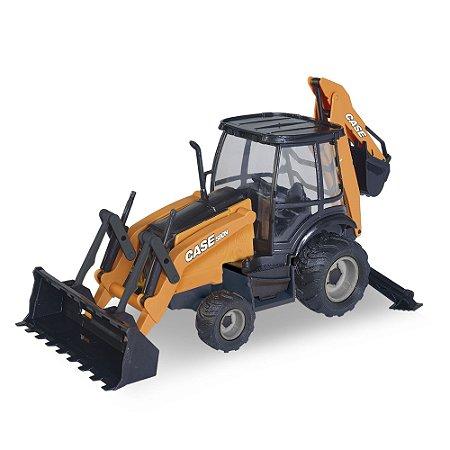 Réplica Trator Retroescavadeira Case 580N Construction Usual