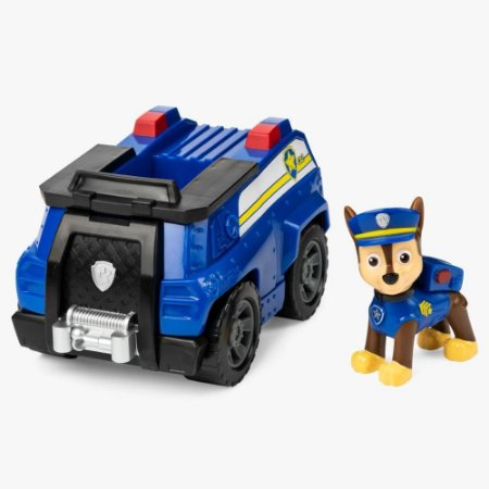 Veículo + Figura Chase Patron Cruiser Patrulha Canina- Sunny