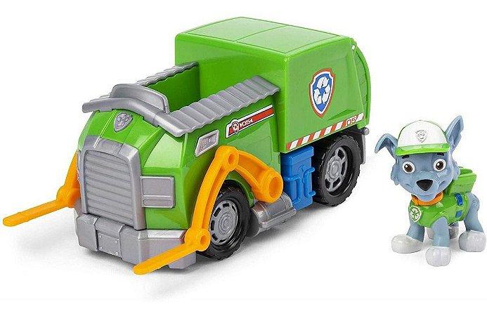 Veículo + Figura Rocky Recycle Truck Patrulha Canina - Sunny