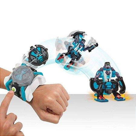 Relógio Ben 10 Omnitrix Omnilançador - C/ 2 Figuras - Sunny