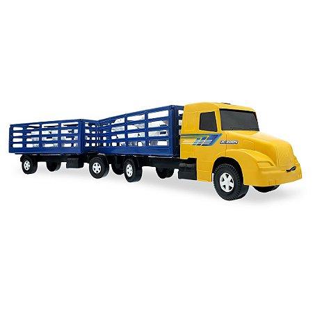 Caminhão Boiadeiro Super Bitrem Carga Viva - 56cm - Usual