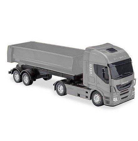 Caminhão Basculante Iveco Hi-Way c/ Caçamba - 40cm - Usual