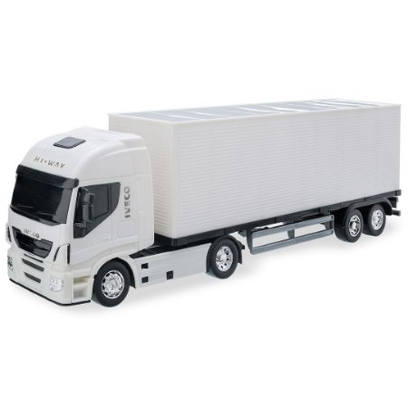Caminhão Baú Iveco Hi-Way - 45cm - Usual Brinquedos