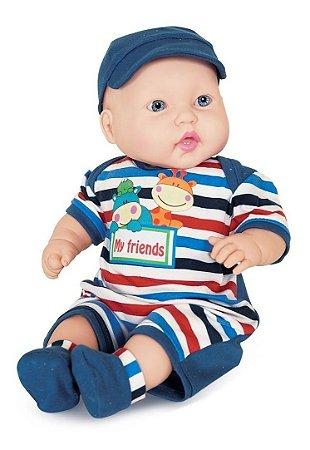 Boneco Miyo Menino - Bebê Reborn - 47 cm - Cotiplás