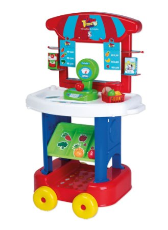 Mercadinho Infantil Play Time - C/ Acessórios - Cotiplás