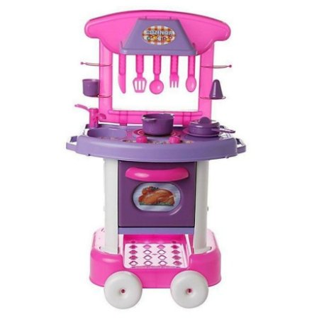 Cozinha Infantil Completa Play Time - 71cm - Cotiplás