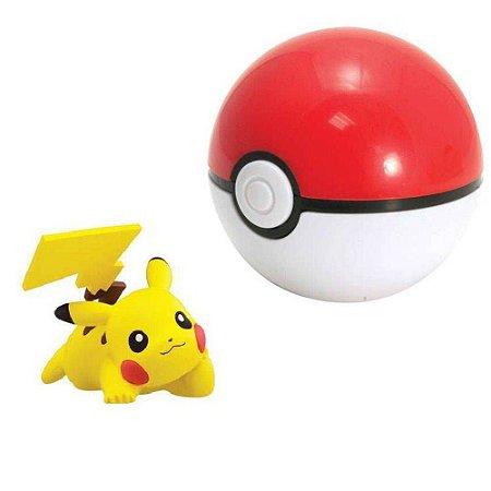 Pokémon - Clip Carry - Pikachu + Pokebola Quick Ball - Sunny